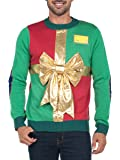 Tipsy Elves Men's Ugly Christmas Sweater - Funny Christmas Present Sweater by