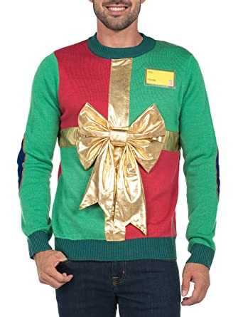 tipsy elves mens sweater small - Funny Christmas Sweater