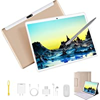 Tablet 10 Pulgadas 4GB RAM 64GB ROM (Expandido 128G) Android 9.0 Tablets Dual SIM 4G/WiFi Quad-Core 1.5 GHz Type-C OTG GPS Bluetooth