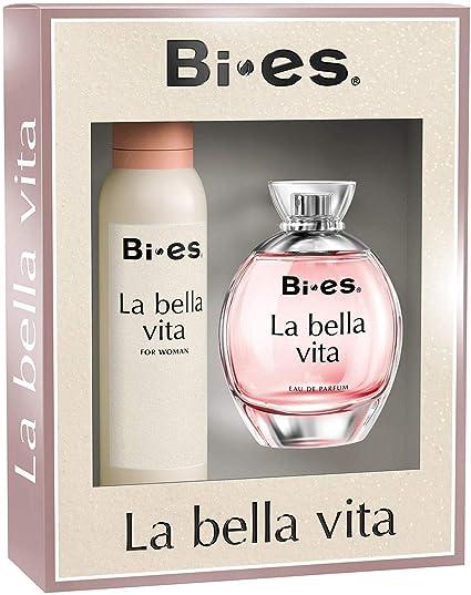 Pack mujer LA BELLA VITA BIES perfume y desodorante 180912: Amazon.es: Belleza