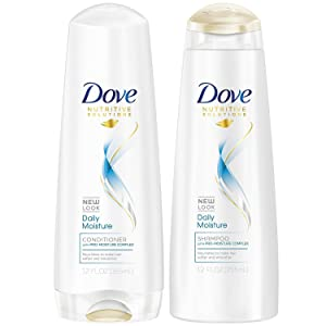 Dove Daily Moisture Shampoo and Conditioner 12oz Combo SETPackage May Vary