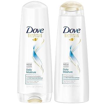 amazon com dove daily moisture shampoo and conditioner 12oz combo