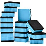 Vancool 16-Pack 5 x 5cm Mini Whiteboard Erasers for Classroom, Home and Office