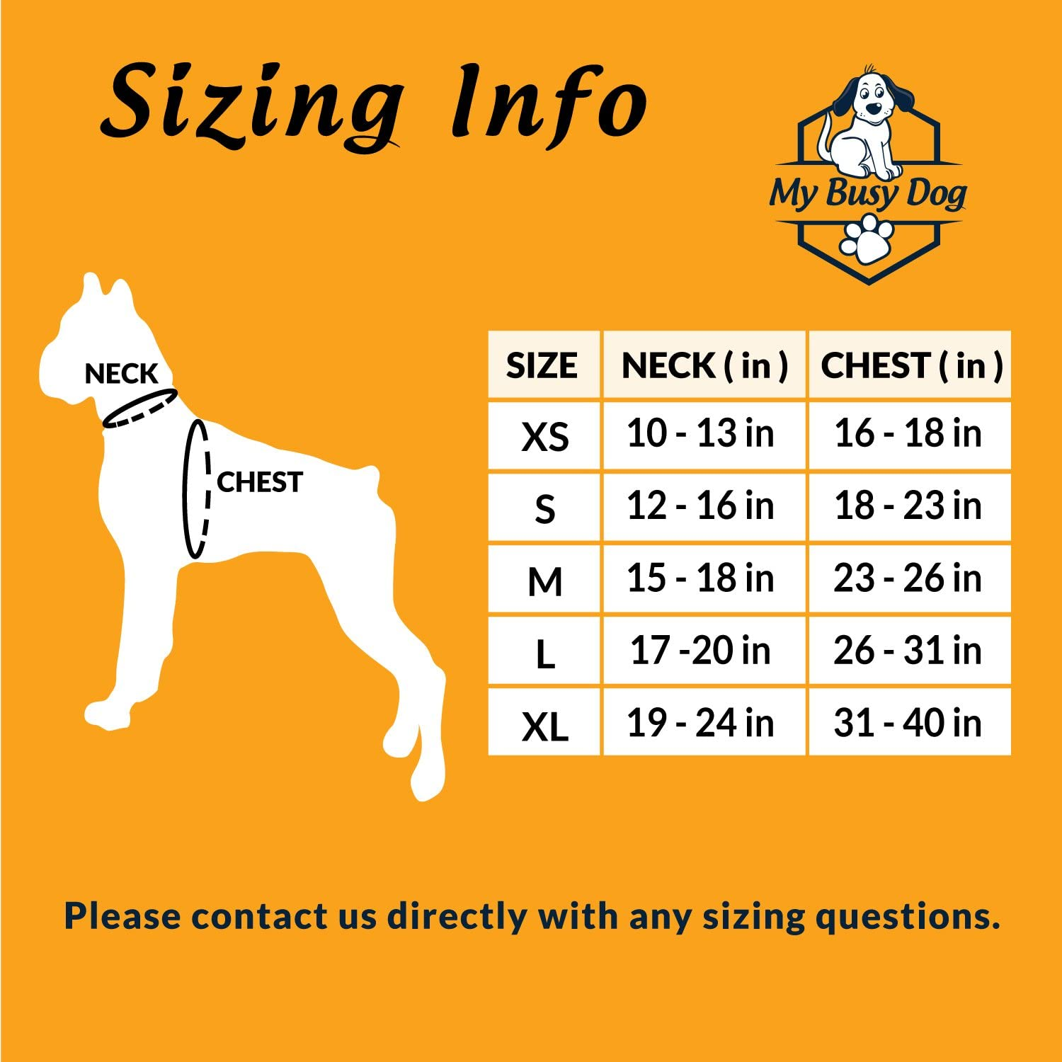My Busy Dog Harness Vest No Pull Reflective Front//Back Metal Leash Attachments Handle Size Chart in Pictures X-Small, Red Secure Fit Perfect for Small Medium Large Dogs Easy On//Off