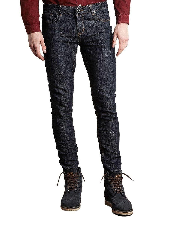 Criminal Damage Womens Skinny Fit Indigo Jeans