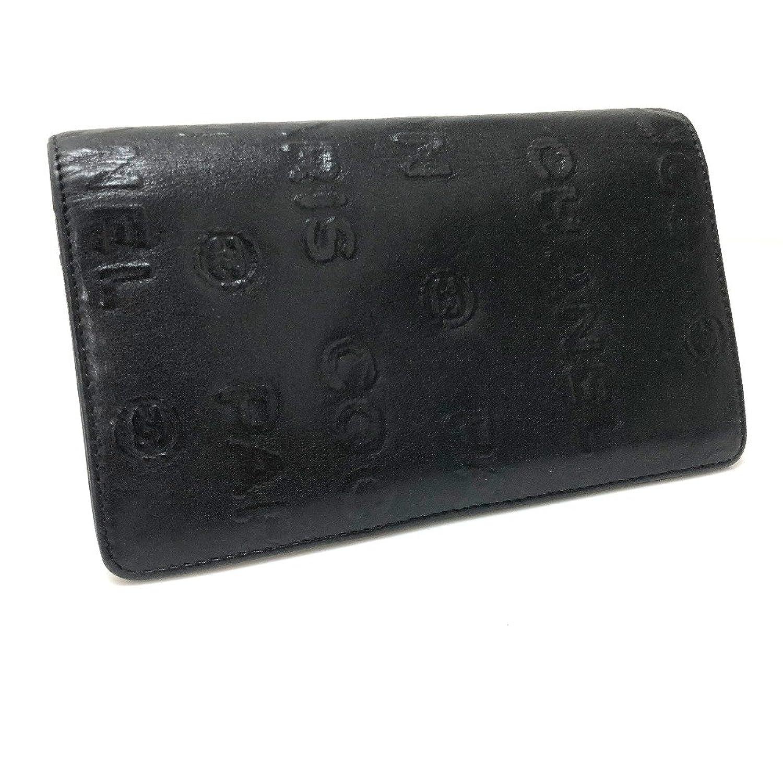 (シャネル) CHANEL アンリミテッド 二つ折り長財布 長財布(小銭入れあり) カーフスキン ユニセックス 中古 B01CCMTC5M