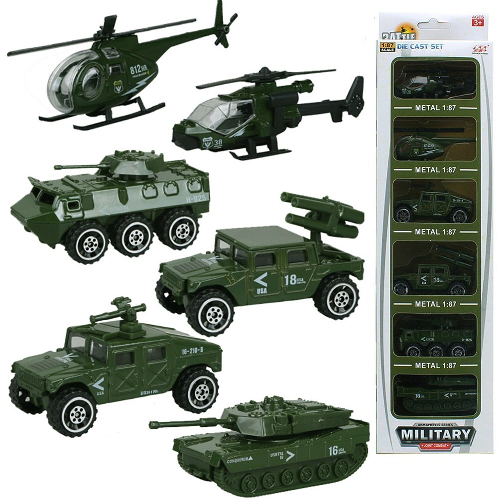 Toy Army Cars : Special forces metal military vehicle army toy set tank