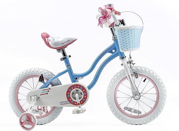 RoyalBaby Star Girl, bicicleta para niñas, de 3 a 6 años, 12-14-16 ...