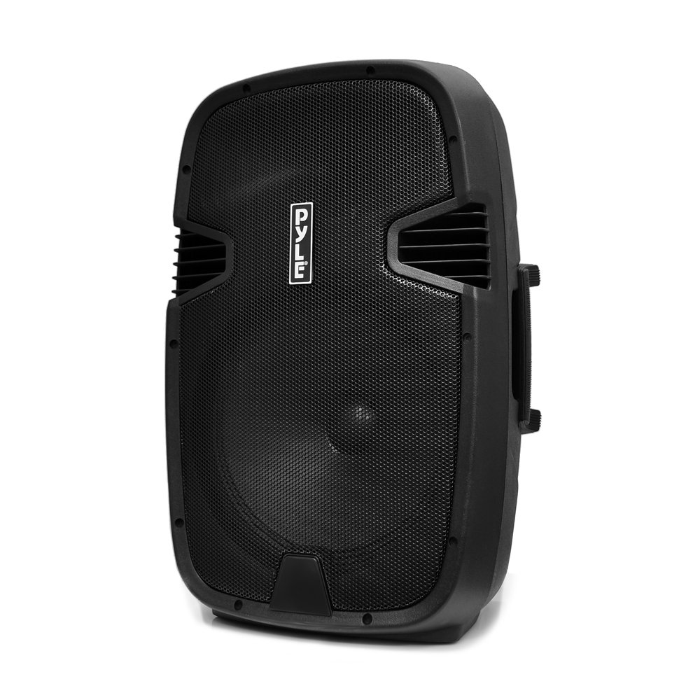 Pyle PA Loudspeaker Powered Active System Portable Bluetooth - 12 Inch Bass Subwoofer with Built-in USB for MP3 Amplifier - DJ Party Sound Stereo Amp Sub for Concert Audio or Band Music PPHP122BMU by Pyle