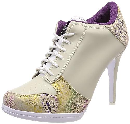 7592eb641562cf MISSY ROCKZ Bequeme Sneaker High Heels Damenschuhe Secret Rainbow ...