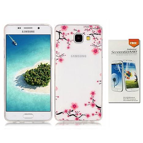 Amazon.com: OuDu - Carcasa para Samsung Galaxy A3 2016 SM ...