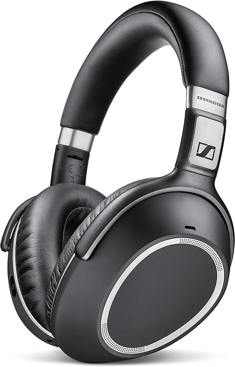 Sennheiser PXC550 - Auriculares de Diadema Cerrados con cancelación de Ruido adaptativo, Bluetooth, Color Negro