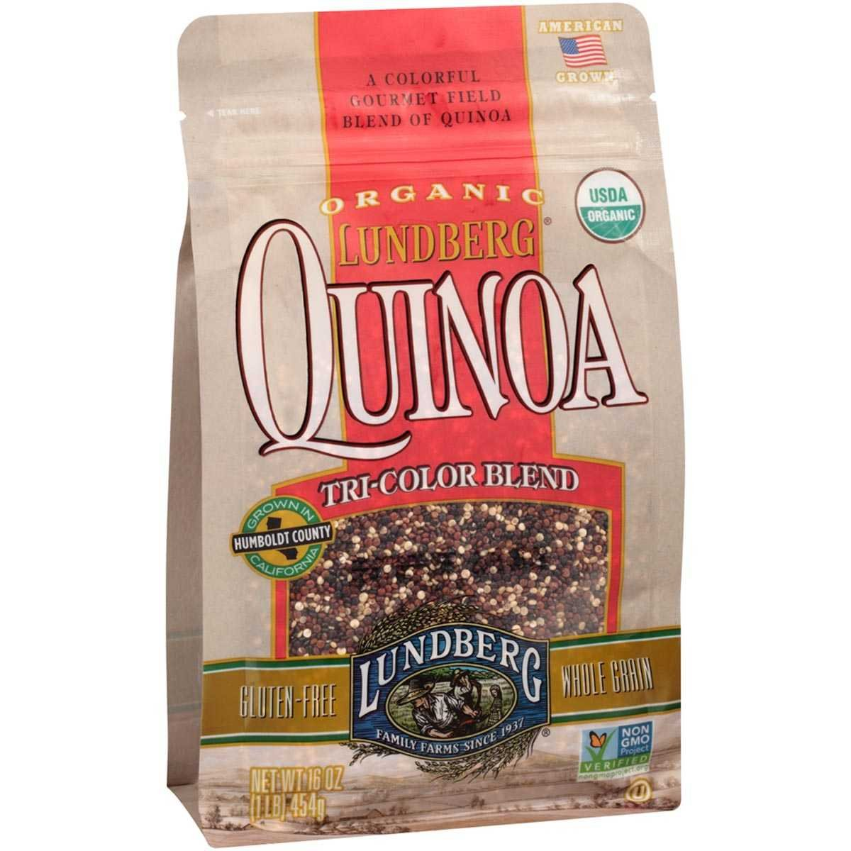 QUINOA, OG2, TRI-COLOR , Pack of 6