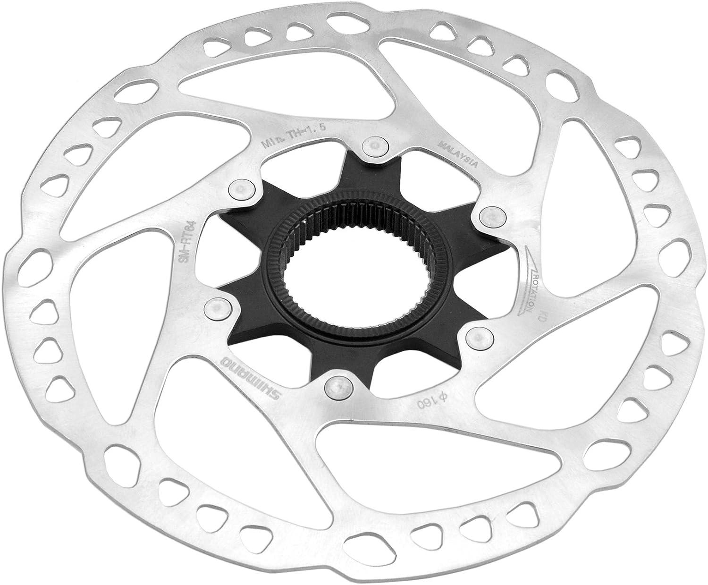 V PARTS - 12010 : Disco freno 180mm Sistema CENTER LOCK tipo shimano SLX bici bicicleta: Amazon.es: Coche y moto