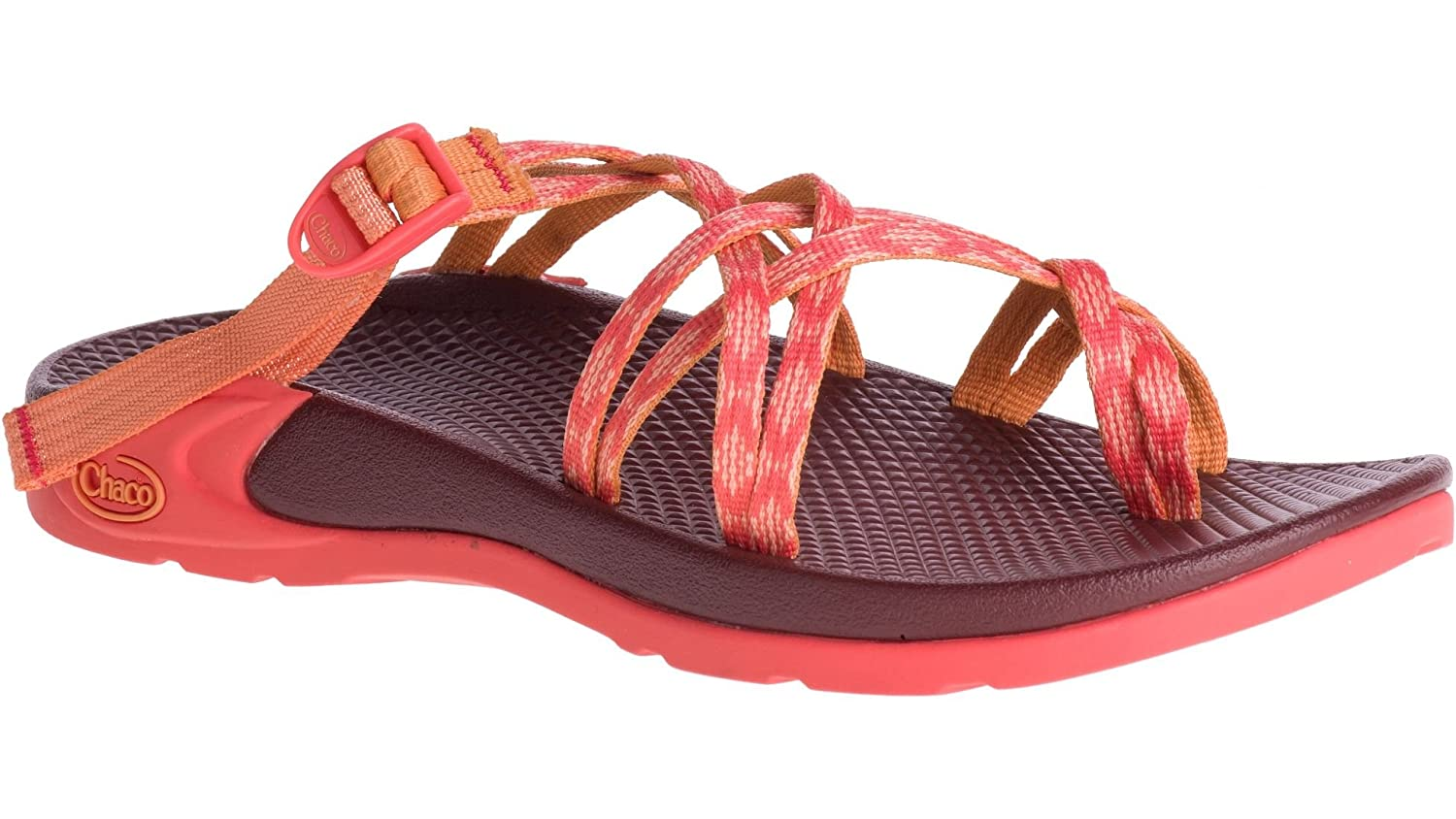 Chaco Women's Zong X Ecotread Athletic Sandal B072KGBJ84 10 B(M) US|Tacit Peach