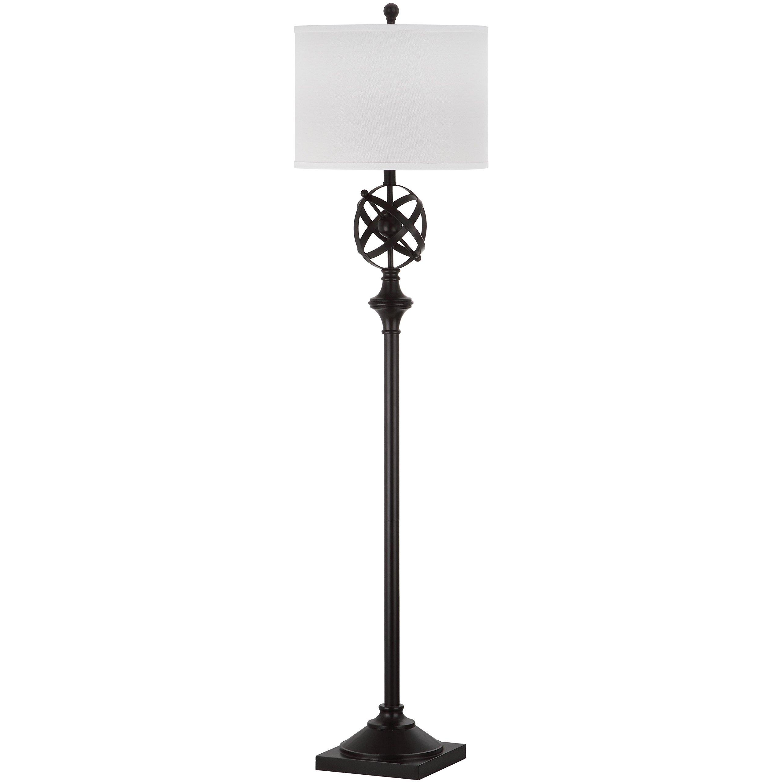 Safavieh Lighting Collection Franklin Armillary Oil-Rubbed Bronze 60-inch Floor Lamp
