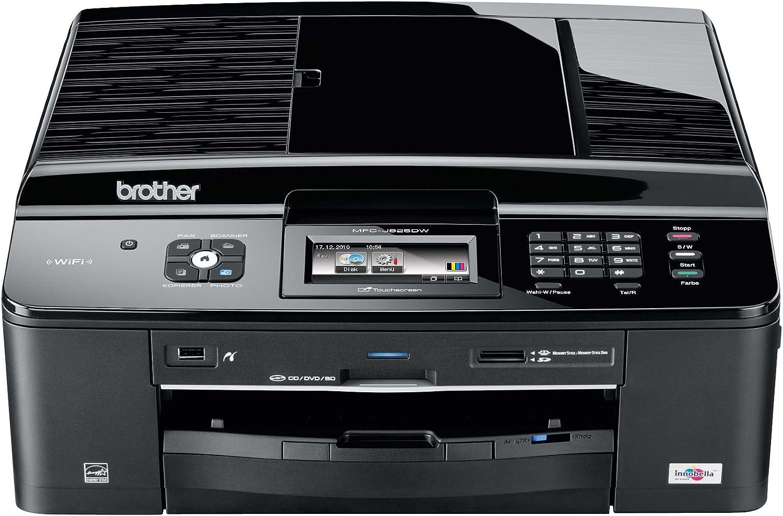 Brother MFCJ825DW - Impresora multifunción de Tinta Color (A4, 12 ...