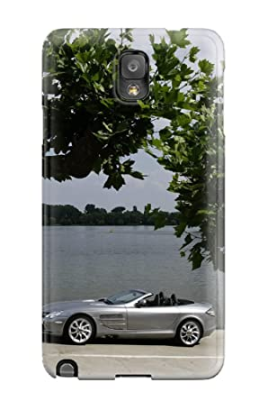 Amazon.com: For Galaxy Note 3 Fashion Design Mercedes ...