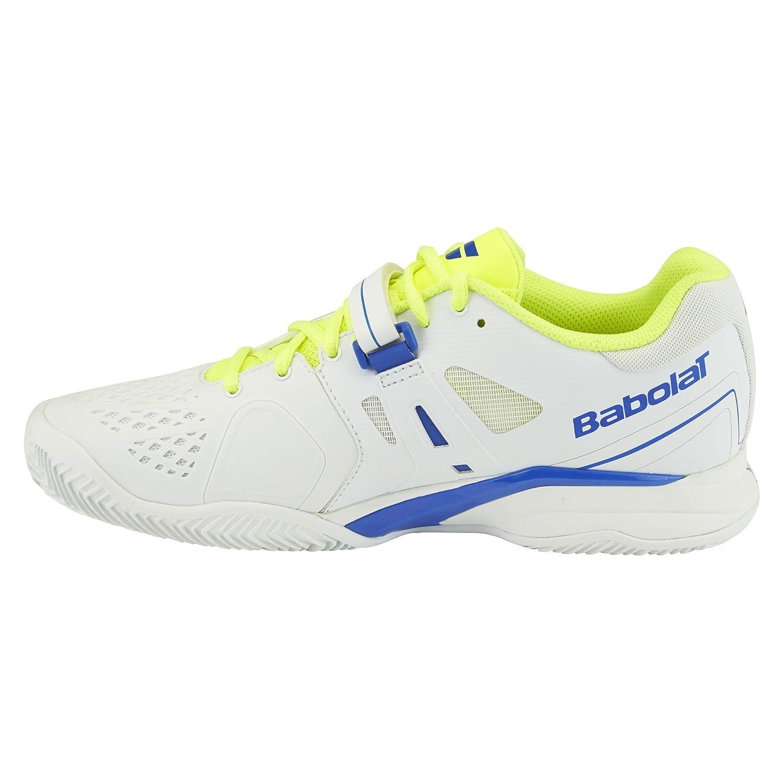 Babolat Scarpe Propulse Clay Bianco Blu, Giallo Giallo Giallo 6561d7