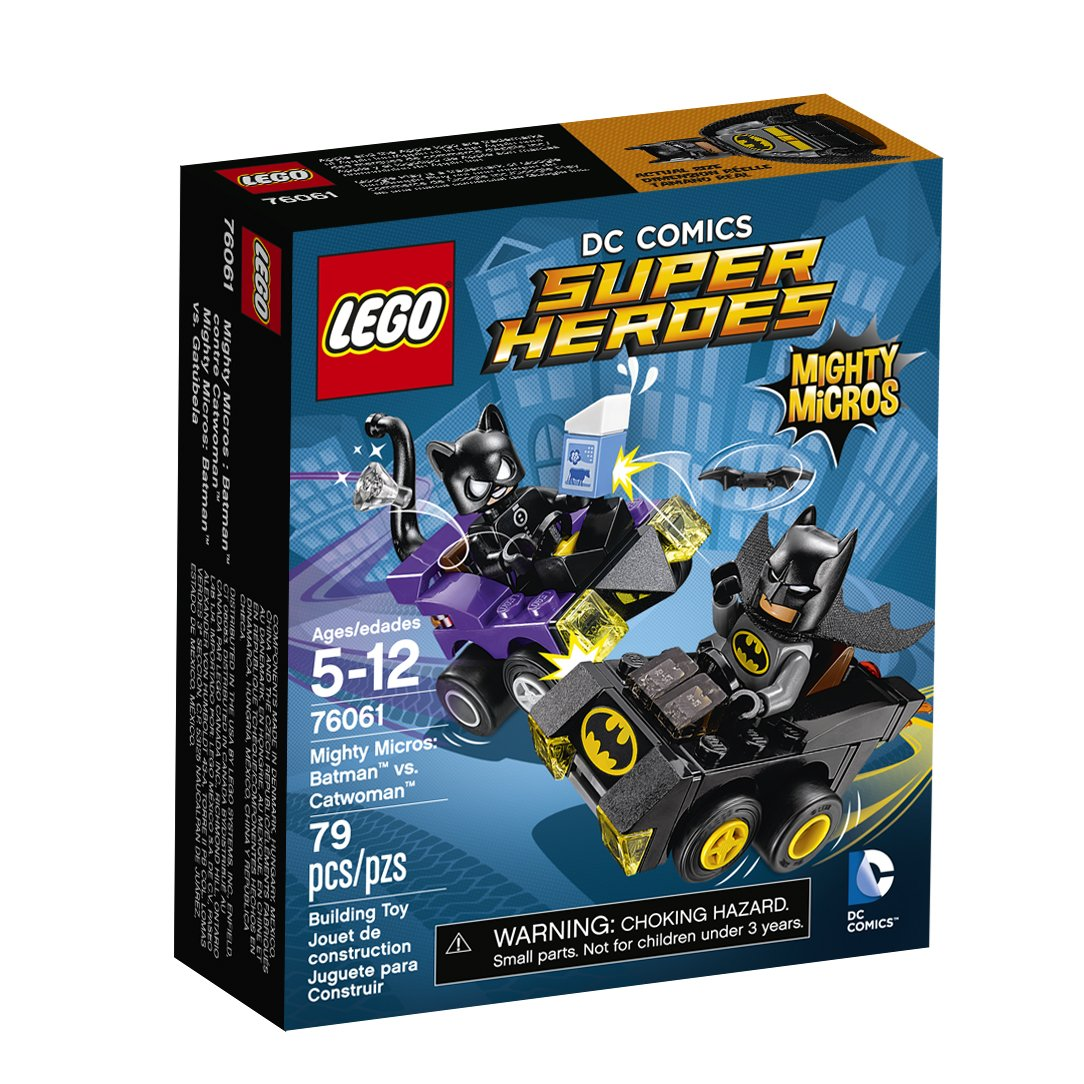 LEGO 76061 DC Comics Super Heroes Mighty Micros: Batman vs. Catwoman