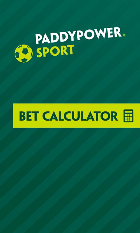 Handicap betting calculator paddy nfl sports betting 101 book