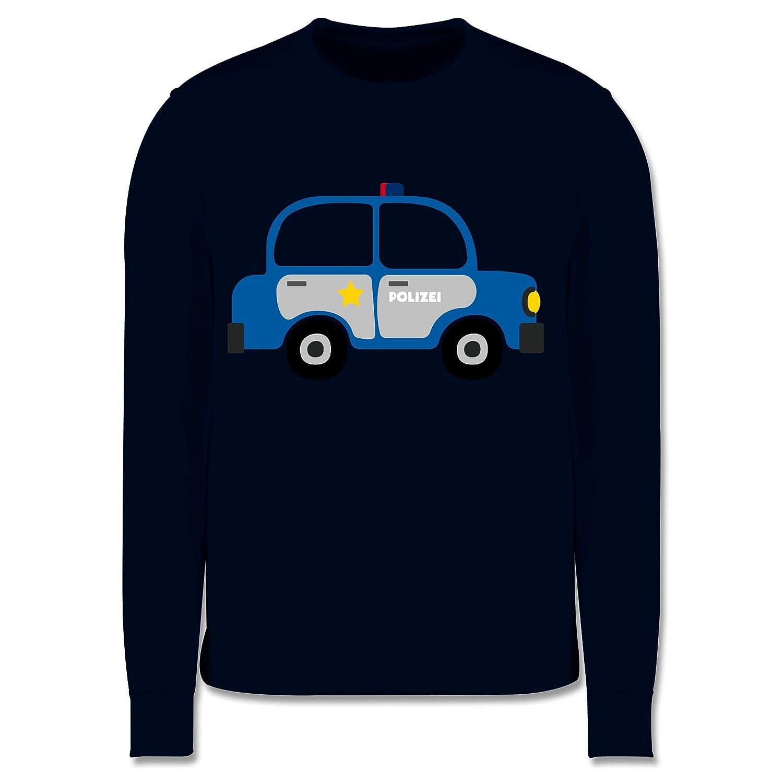 Fahrzeuge Kind - Polizei Auto - Kinder Pullover Shirtracer JH030K