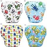 Toddler Baby Boys Girls Cute Pattern Swimwear
