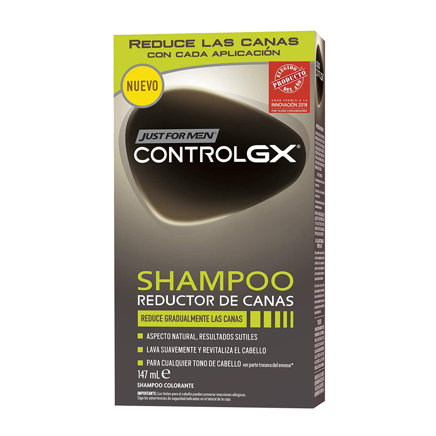 Just For Men Control GX Champú Reductor de Canas - Tinte para las ...
