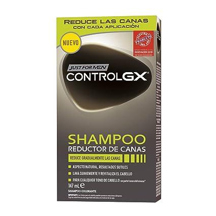 Just For Men Control GX Champú Reductor de Canas - Tinte para las ...