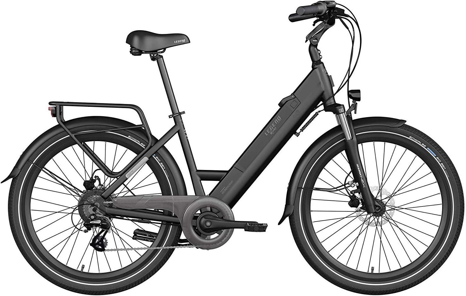 Legend Milano Bicicleta Eléctrica Urbana Smart eBike Ruedas de 26 ...