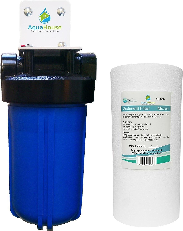 AquaHouse Sistema de pre-filtro de suavizador de agua, protección ...
