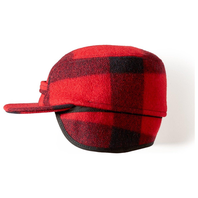 Filson HAT メンズ Small レッド/ブラック B00G2CIZKC