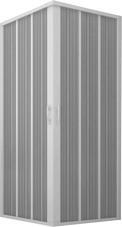 Nueva cabina de ducha flexible, fuelle angular, BXF101001: Amazon ...