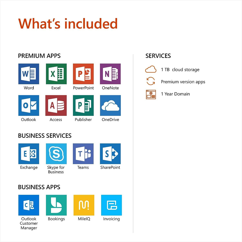 Microsoft Office 365 Business Premium | 12-month subscription, 1