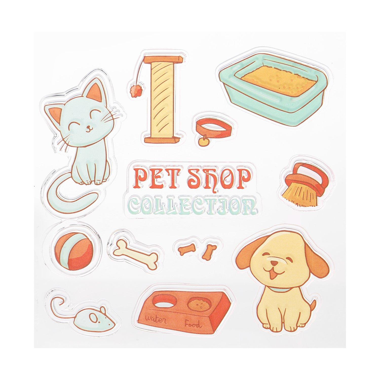 Sellos transparentes para tarjeta de bebé marcar mascotas ...