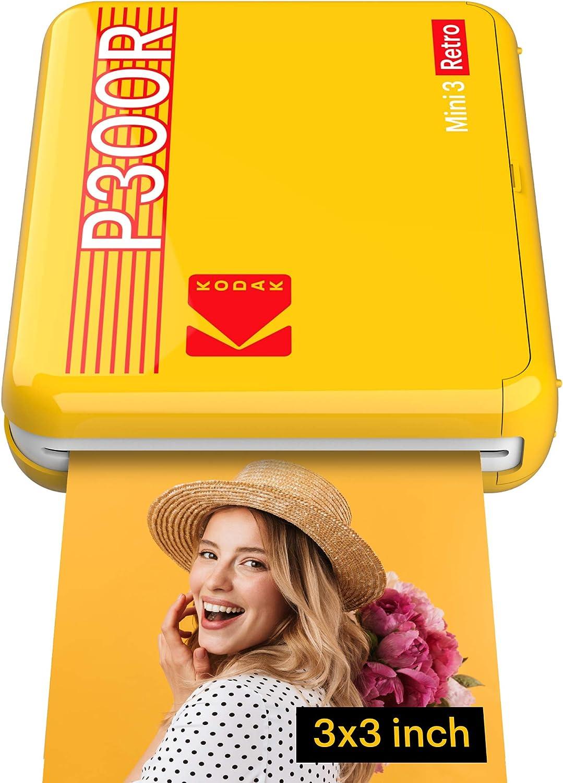 Kodak Mini 3 Retro Tragbarer Fotodrucker Ios Kamera