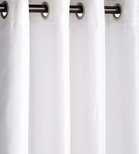 Amazon Com Plow Hearth Outdoor Woven Grasscloth Single Curtain