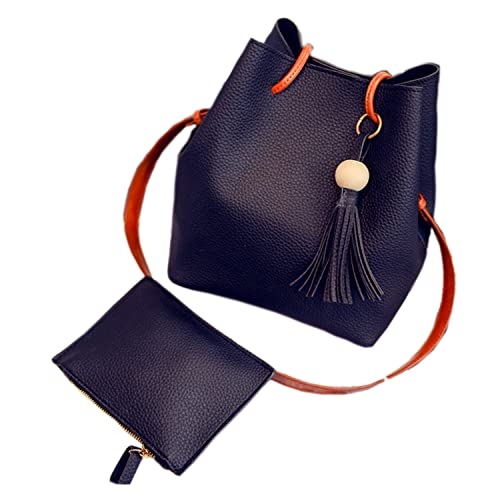dd42c61db8a7 Fashion Tassel buckets Tote Handbag, Women Messenger Shoulder Bags ...