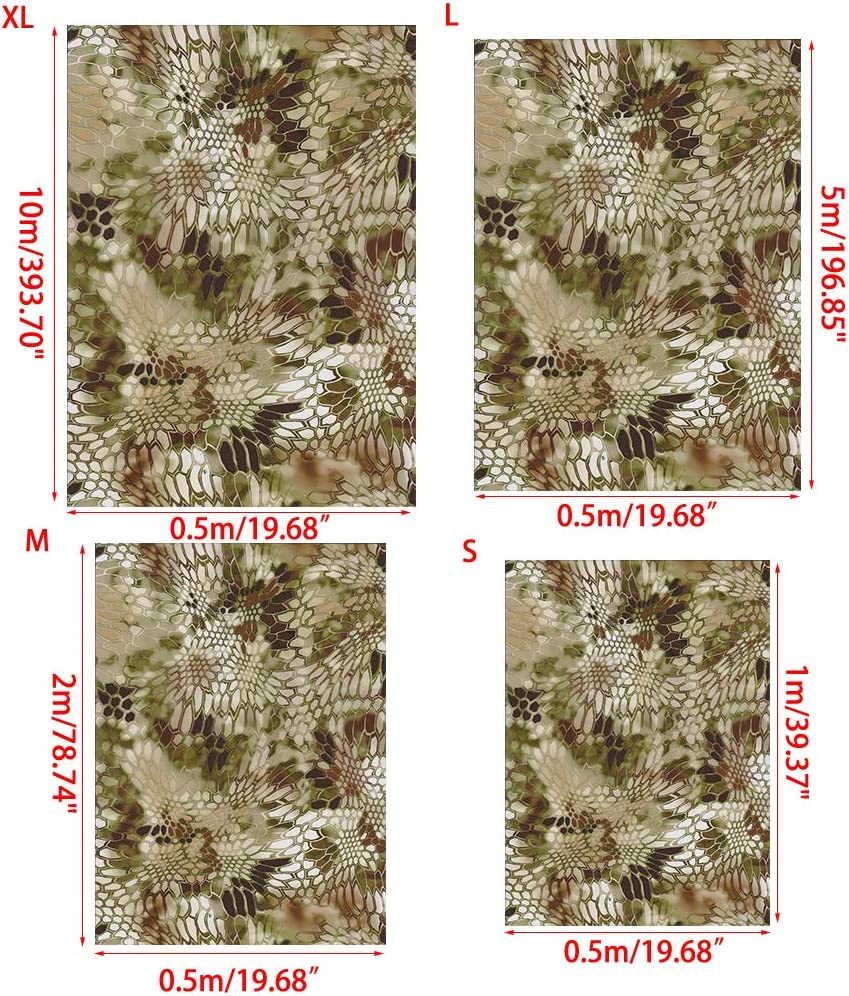 19.68 X 196.85inches ZHENXI Hydrographic Film Hydro Dipping Hydro Dip Film for Decor Water Transfer Hydrographic Film