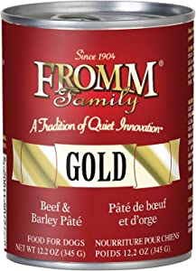 Fromm Beef and Barley Pâté 12/12.2 Ounce Cans