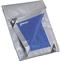 Ribimex PRB25005X08 Pro versterkte afdekzeil, 5 x 8 m, 250 g, meerkleurig