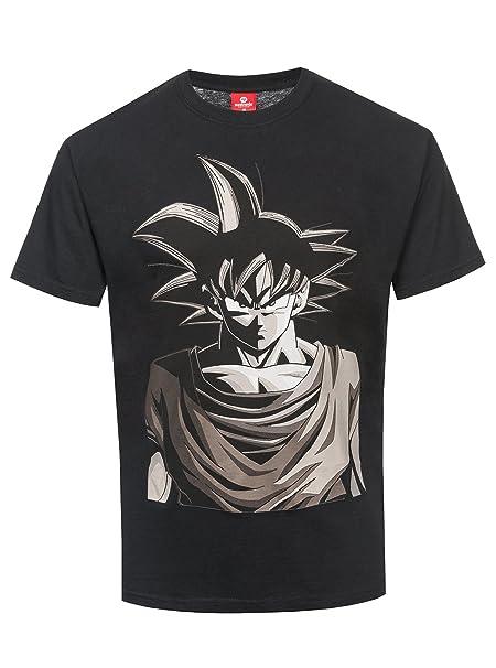 Dragon Ball Z - Son Goku - Picture Camiseta Negro