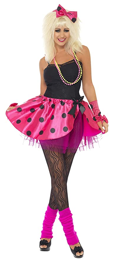80s Costumes, Outfit Ideas- Girls and Guys Smiffys Tutu Instant Kit Pink/Black Large $15.77 AT vintagedancer.com