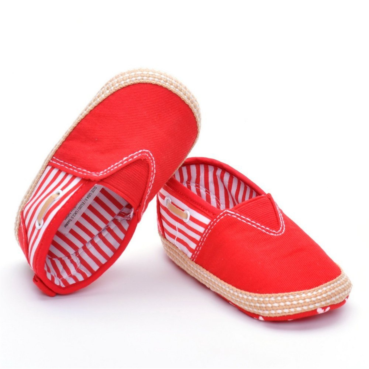 Losver Baby Moccasins Cansvas Sneakers
