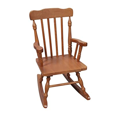 Gift Mark FBA_ Child's Colonial Rocking Chair, Honey: Kitchen & Dining