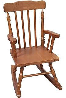 Superieur Gift Mark Childu0027s Colonial Rocking Chair, Honey