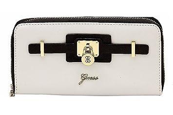 Portefeuille et porte-monnaie Guess de la gamme Greyson pour femme ( noirmulti) fb955daa129
