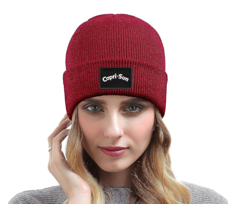 YJRTISF Popular Music Fine Knit Knit Caps Capri-Sun Cool Trending Beanie Hats for Men