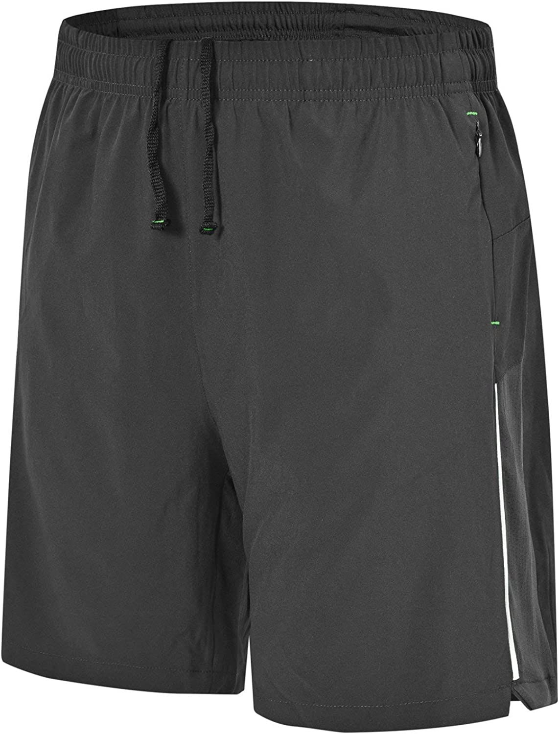 Rdruko Men's Workout Running Shorts Quick Dry Lightweight Gym Shorts with Mesh Liner