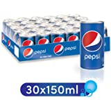 Pepsi, Carbonated Soft Drink, Mini Cans, 30 * 150 ml